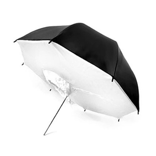 "33"" Black/White Brolly Box"