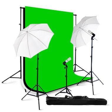 1000 Watt Continuous Triple Lighting 10x10 ft  Photo Studio Kit TL-01