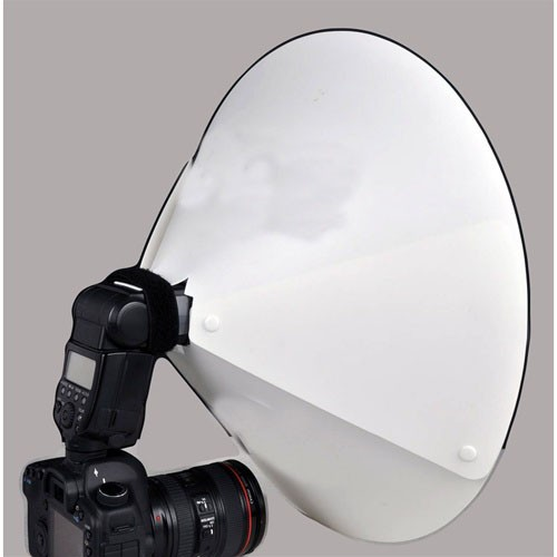 """23"""" Beauty Dish/Reflector Cone for External Speedlites"""