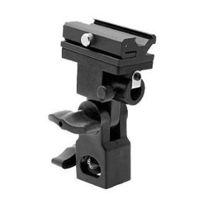 Off Camera Flash Swivel Flash Bracket with Umbrella Bracket