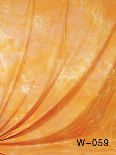 6x9 Ft. Tie-Dye Orange Muslin Photography Backdrop W059