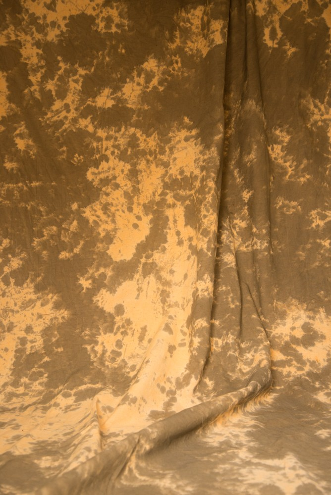 6x9 Ft. Tie-Dye Brown/Orange Muslin Photography Backdrop W112