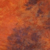 10x10 Ft. Tie-Dye Orange Muslin Photography Backdrop