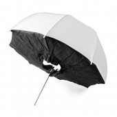 "33"" White/Black Brolly Box"