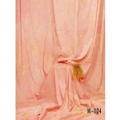 6x9 Ft. Tie-Dye Pink/Orange Muslin Photography Backdrop W024