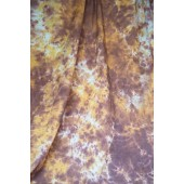 6x9 Ft. Tie-Dye Brown Muslin Photography Backdrop W038