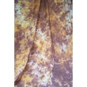 6x9 Ft. Tie-Dye Brown Muslin Photography Backdrop W038