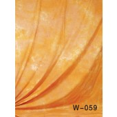 6x9 Ft. Tie-Dye Orange Muslin Photography Backdrop W059