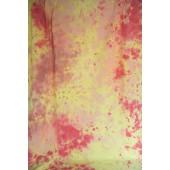 6x9 Ft. Tie-Dye Yellow/Orange Muslin Photography Backdrop W104